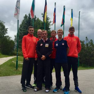 Nils Brembach, Thorsten Heß (Physio),Ron Weigel, Carl Dohmann, Hagen Pohle, Christopher Linke